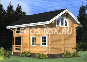 Дом из профилированного бруса Вески
