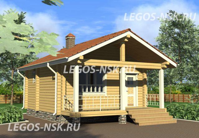 Баня из профилированного бруса Елесеев