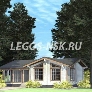 Дом из профилированного бруса Осипов