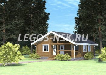 Дом из профилированного бруса Озерово