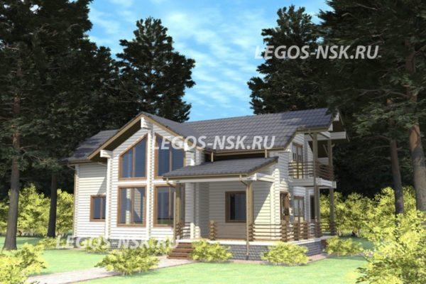 Дом из профилированного бруса Ржев