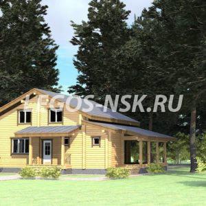 Дом из профилированного бруса Юдино