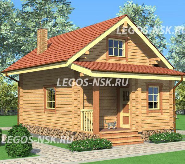 Дом из профилированного бруса Звезда