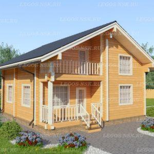 Дом из профилированного бруса Двина