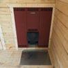 Баня 4х7 комната отдыха