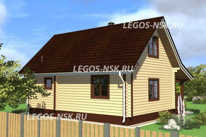 Дома из профилированного бруса Карасево