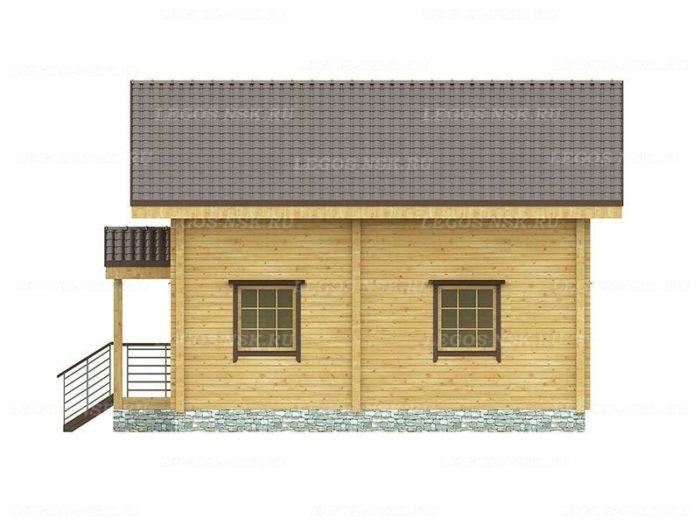 Проект дома из профилированного бруса 7х9м